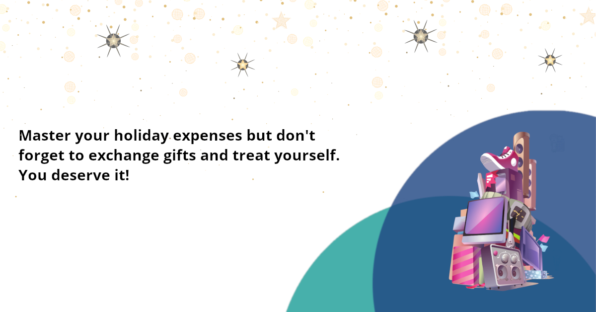 Deal with your Christmas expenses and embrace the holiday spirit