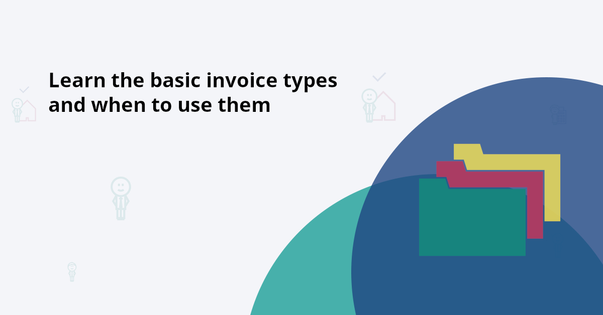 Basic invoice types you need to know