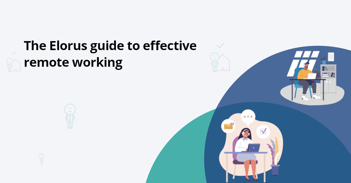 Elorus tips to working from home